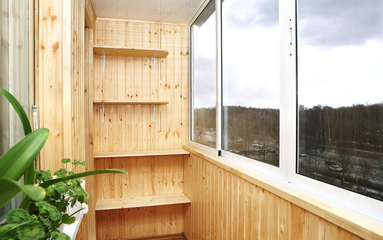 """Как обшить балкон вагонкой видео """" строительные работы."""